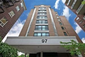 Fully Reno'd Rarely Avail. Lrg 1 Bdrm+, Corner Suite W/ F To C W