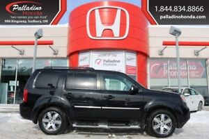 2015 Honda Pilot Touring-ALL WHEEL DRIVE,REAR ENTERTAINMENT SYST