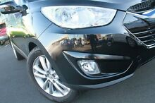 2010 Hyundai ix35 LM MY11 Highlander AWD Black 6 Speed Sports Automatic Wagon Wolli Creek Rockdale Area Preview