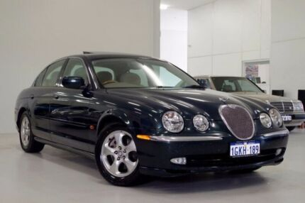 1999 Jaguar S-Type X200 SE Green 5 Speed Automatic Sedan Myaree Melville Area Preview