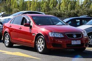 2011 Holden Commodore VE II Omega Burgundy 4 Speed Automatic Sedan Ringwood East Maroondah Area Preview