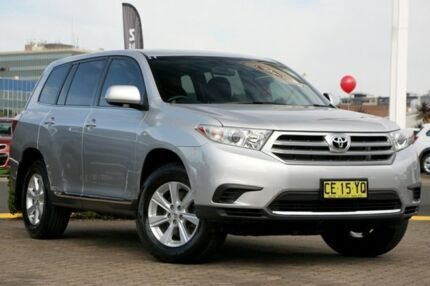 2012 Toyota Kluger GSU40R MY11 Upgrade KX-S (FWD) Silver 5 Speed Automatic Wagon Rosebery Inner Sydney Preview