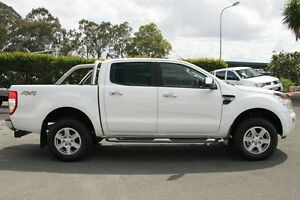 2013 Ford Ranger PX XLT Double Cab Cool White 6 Speed Sports Automatic Utility Acacia Ridge Brisbane South West Preview