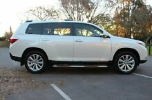 2013 Toyota Kluger  White Sports Automatic Wagon Rose Park Burnside Area Preview