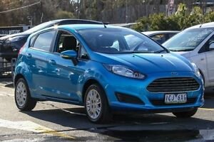 2014 Ford Fiesta WZ Ambiente PwrShift Blue 6 Speed Sports Automatic Dual Clutch Hatchback Ringwood East Maroondah Area Preview