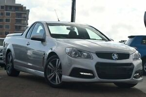 2015 Holden Ute VF MY15 SV6 Ute Silver 6 Speed Sports Automatic Utility Waitara Hornsby Area Preview