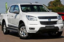2012 Holden Colorado RG MY13 LTZ Crew Cab White 5 Speed Manual Utility McGraths Hill Hawkesbury Area Preview