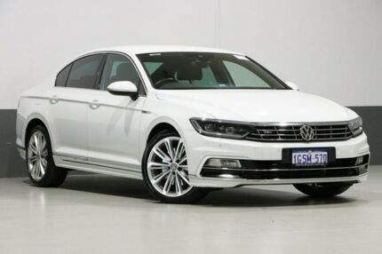 2016 Volkswagen Passat 3C MY17 206 TSI R-Line White 6 Speed Direct Shift Sedan Bentley Canning Area Preview