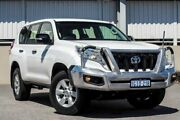 2016 Toyota Landcruiser Prado GDJ150R MY16 GX (4x4) White 6 Speed Automatic Wagon Cannington Canning Area Preview