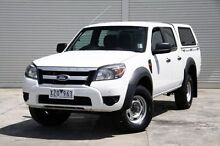 2010 Ford Ranger  White Automatic Utility Cranbourne Casey Area Preview