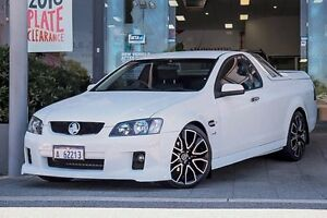 2010 Holden Ute VE MY10 Omega White 4 Speed Automatic Utility Myaree Melville Area Preview