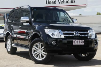 2014 Mitsubishi Pajero NW MY14 Exceed Black 5 Speed Sports Automatic Wagon Woolloongabba Brisbane South West Preview