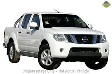 2014 Nissan Navara D40 S7 ST White 6 Speed Manual Utility Wantirna South Knox Area Preview