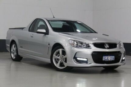 2016 Holden Ute VF II SS Silver 6 Speed Manual Utility