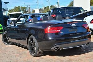 2009 Audi S5 8T MY10 S tronic quattro Black 7 Speed Sports Automatic Dual Clutch Cabriolet Osborne Park Stirling Area Preview