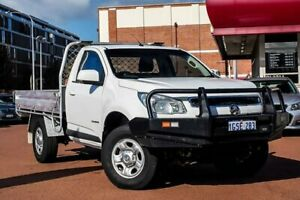 2015 Holden Colorado RG MY15 LS 4x2 White 6 Speed Manual Cab Chassis Fremantle Fremantle Area Preview