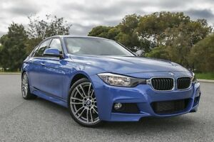 2014 BMW 320i F30 MY1114 M Sport Blue 8 Speed Sports Automatic Sedan Hillman Rockingham Area Preview