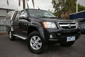 2009 Holden Colorado RC MY09 LT-R (4x4) Black 5 Speed Manual Utility Oakleigh Monash Area Preview