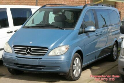 2006 Mercedes-Benz Viano VAN VAN Blue 5 Speed Automatic Long Wheel Base