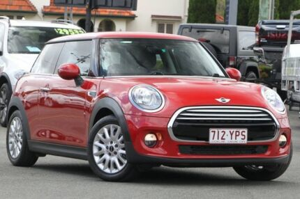 2014 Mini Hatch F56 Cooper Red 6 Speed Automatic Hatchback Nundah Brisbane North East Preview