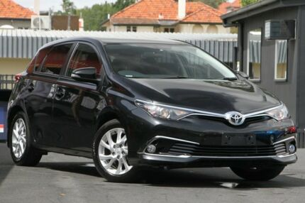 2017 Toyota Corolla ZRE182R Ascent Sport S-CVT Black 7 Speed Constant Variable Hatchback Nundah Brisbane North East Preview