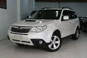 2009 Subaru Forester S3 MY09 XT AWD Premium White 5 Speed Manual Wagon Castle Hill The Hills District Preview