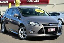 2013 Ford Focus LW MKII Sport PwrShift Grey 6 Speed Sports Automatic Dual Clutch Hatchback Wilston Brisbane North West Preview