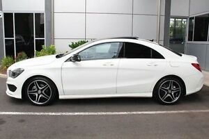 2016 Mercedes-Benz CLA200 C117 807MY DCT White 7 Speed Sports Automatic Dual Clutch Coupe Hilton West Torrens Area Preview