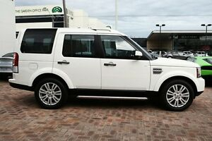 2010 Land Rover Discovery 4 Series 4 10MY TdV6 CommandShift HSE White 6 Speed Sports Automatic Wagon Osborne Park Stirling Area Preview
