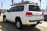 2009 Toyota Landcruiser VDJ200R GXL White 6 Speed Sports Automatic Wagon Wangara Wanneroo Area Preview