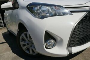 2015 Toyota Yaris NCP131R SX Glacier 4 Speed Automatic Hatchback