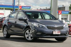 2015 Kia Cerato YD MY15 S Planet Blue 6 Speed Sports Automatic Sedan Brendale Pine Rivers Area Preview