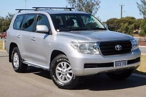 2010 Toyota Landcruiser VDJ200R MY10 GXL Silver 6 Speed Sports Automatic Wagon Mindarie Wanneroo Area Preview