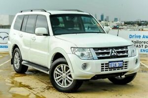 2014 Mitsubishi Pajero NW MY14 VR-X White 5 Speed Sports Automatic Wagon Osborne Park Stirling Area Preview