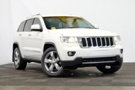 2011 Jeep Grand Cherokee WK MY2011 Limited Bright White 5 Speed Sports Automatic Wagon