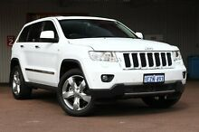 2012 Jeep Grand Cherokee WK MY2013 Overland White 6 Speed Sports Automatic Wagon Northbridge Perth City Preview