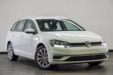 2017 Volkswagen Golf 7.5 MY17 110TSI DSG Comfortline White 7 Speed Sports Automatic Dual Clutch Myaree Melville Area Preview