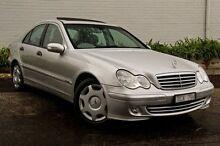 2004 Mercedes-Benz C180 Kompressor  Silver Automatic Sedan Burwood Whitehorse Area Preview