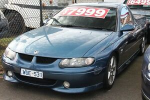 2002 Holden Commodore Vuii SS Blue Metallic 4 Speed Automatic Utility Briar Hill Banyule Area Preview