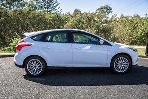 2011 Ford Focus LW SPORT HATCH 5DR PWRSHIFT 6S White Port Macquarie Port Macquarie City Preview