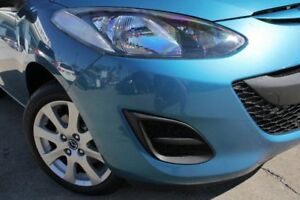2014 Mazda 2 DE10Y2 MY14 Maxx Sport Blue 5 Speed Manual Hatchback