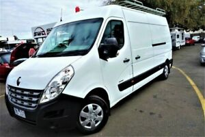 2012 Renault Master X62 Mid Roof LWB White 6 Speed Manual Van Seaford Frankston Area Preview