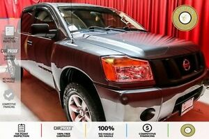 2014 Nissan Titan S BED LINER! AUX! CRUISE CONTROL! TOW MODE!
