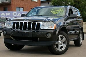 2005 Jeep Grand Cherokee WH MY2006 Limited Grey 5 Speed Automatic Wagon Greenslopes Brisbane South West Preview