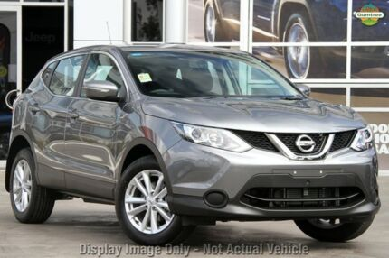 2015 Nissan Qashqai J11 ST Gun Metallic 1 Speed Constant Variable Wagon Mornington Mornington Peninsula Preview
