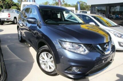 2016 Nissan X-Trail T32 ST-L X-tronic 2WD Tempest Blue 7 Speed Constant Variable Wagon