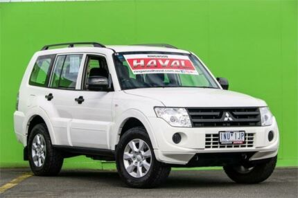 2014 Mitsubishi Pajero NX MY15 GLX White 5 Speed Manual Wagon Ringwood Maroondah Area Preview