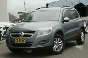 2009 Volkswagen Tiguan 5NC MY09 125 TSI Grey 6 Speed Tiptronic Wagon Brookvale Manly Area Preview