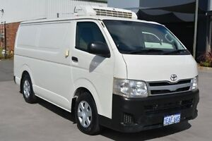 2012 Toyota Hiace KDH201R MY11 Upgrade LWB White 5 Speed Manual Van Welshpool Canning Area Preview