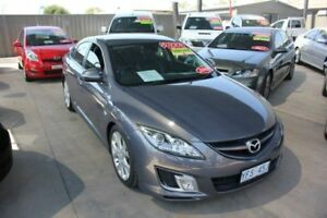 2009 Mazda 6 GH Sport Diesel Black 6 Speed Manual Hatchback